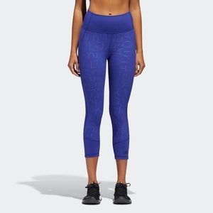 ADIDAS| BELIEVE THIS HIGH-RISE 3/4 ADIHACK TIGHTS